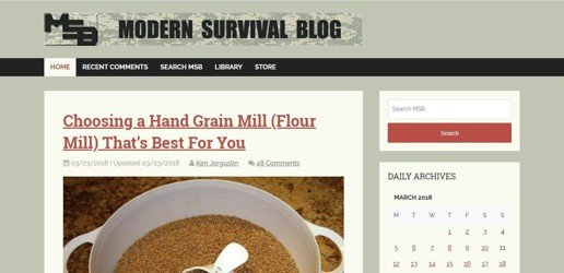 Modern-Survival-Blog
